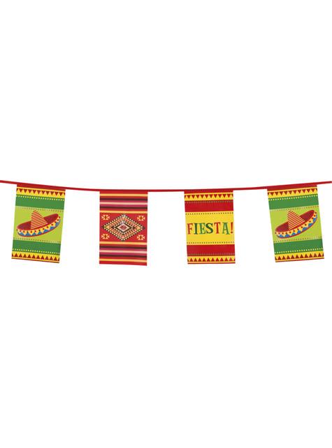 Bandera decorativa para fiesta mejicana - barato
