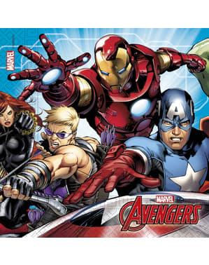 Set 20 servetter The Avengers Attack