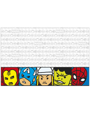 The Avengers Team Power plastic tablecloth