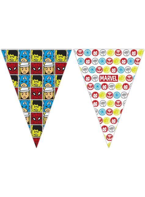 Banderín de Los Vengadores Equipo del Poder - Avengers Cartoon