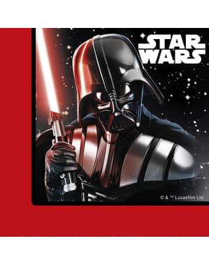 20 Serviettes en papier Star Wars La Bataille finale
