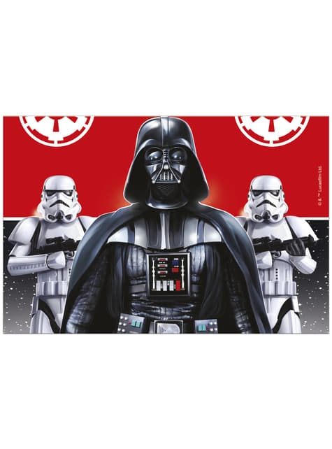 Toalha de Mesa de plástico de Star Wars A Batalha Final