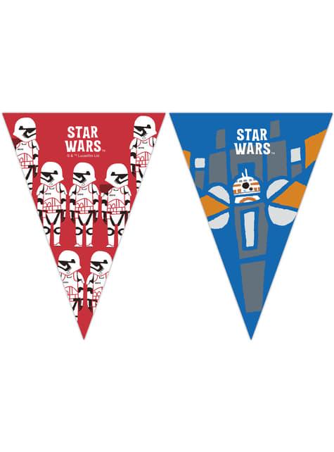 Banderín de Star Wars - Star Wars Pop Comic