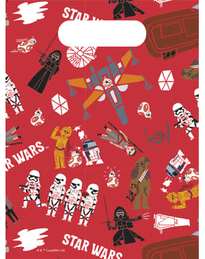 6kpl Star Wars Voima -paperikasseja