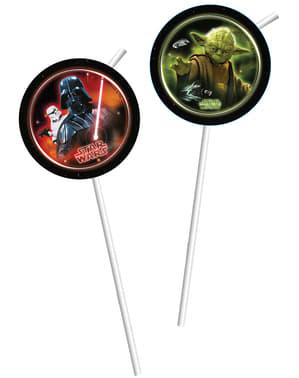 Комплект от 6 Star Wars The Final Battle сламки
