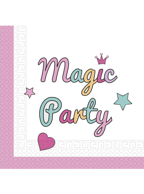 20 servilletas - Magic Party