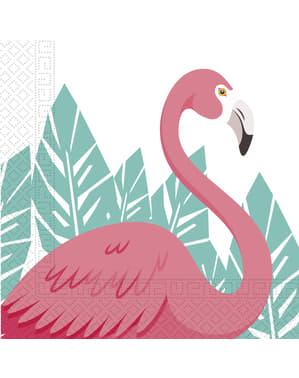 Set 20 serbet Pink Flamingo