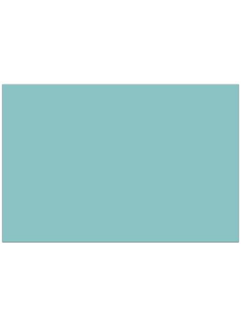 Mantel de plástico azul turquesa