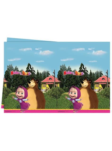 Toalha de Mesa de plástico de Masha e o Urso