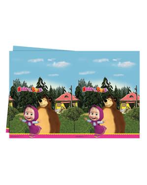 Tovaglia di plastica di Masha e l'orso