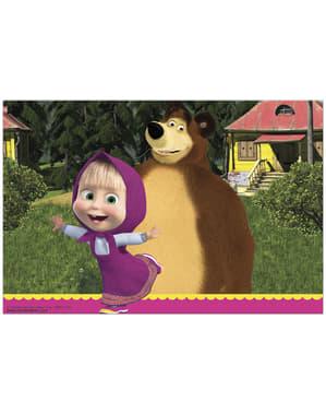 Máša a medveď obrus
