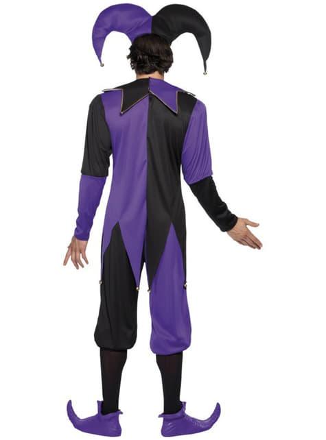 Disfraz de bufón de la corte - hombre