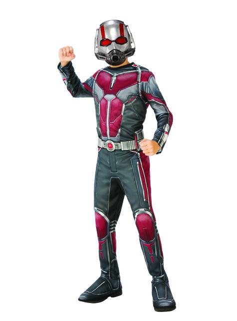 Disfraz de Ant Man para niño - Ant Man y la Avispa