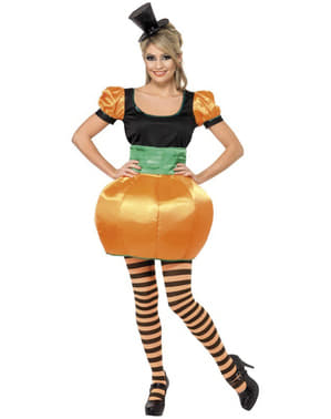 oranje Pompoen kostuum voor vrouwen