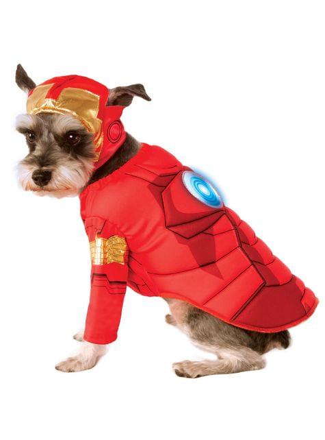 Déguisement Iron Man Avengers pour chien