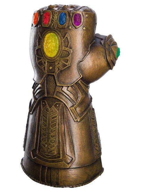 Guantelete del Infinito de Thanos deluxe para adulto - Vengadores Infinity War