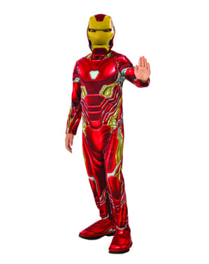Fato de Homem de Ferro para menino - Vingadores Infinity War