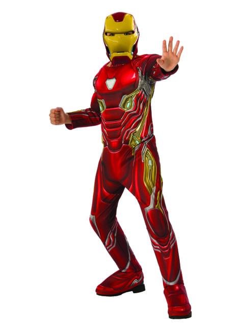 Disfraz de Iron Man deluxe para niño - Vengadores Infinity War