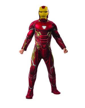 Deluxe Iron Man kostyme til menn - Avengers: Infinity War