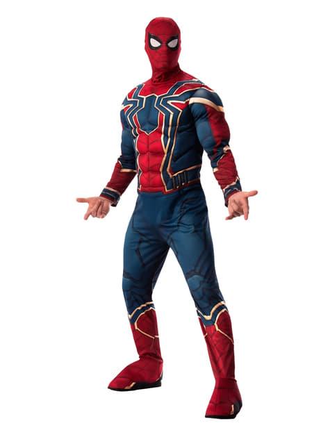 Fato de Iron Spider deluxe para homem - Vingadores Infinity War