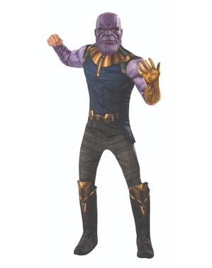 Fato de Thanos deluxe para homem - Vingadores Infinity War