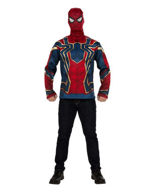 Fato de Iron Spider para homem - Vingadores Infinity War
