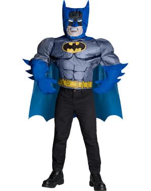 Opblaasbaar Batman kostuum voor mannen