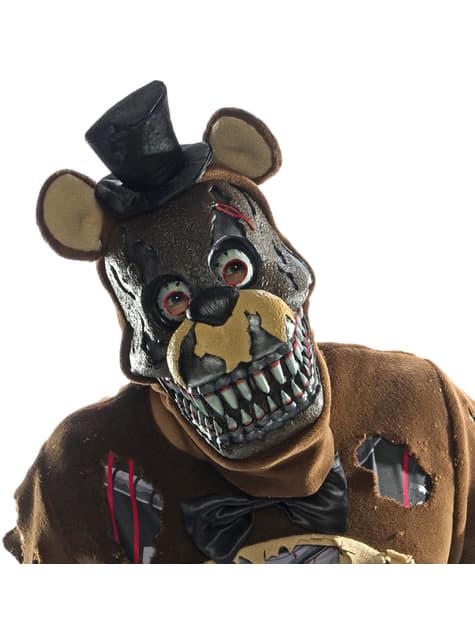 3/4 maska pro dospělé Nightmare Freddy - Five Nights at Freddy's