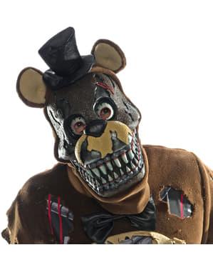 Mareridt Freddy 3/4 maske til voksne - Five Nights at Freddy's