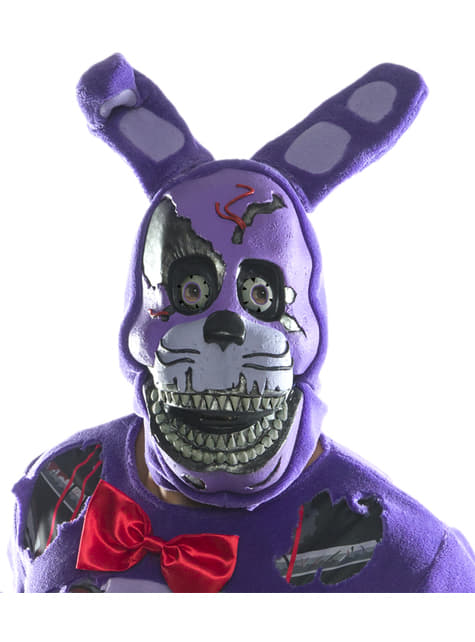 Máscara de Nightmare Bonnie 3/4 para adulto - Five Nights at Freddy's