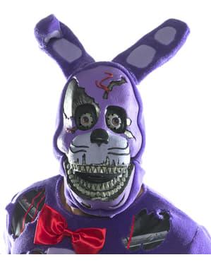Maschera di Nightmare Bonnie 3/4 per adulto - Five Nights at Freddy's