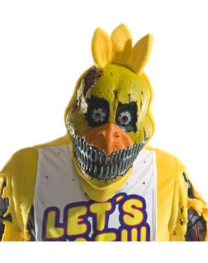 Mareritt Chica 3/4 maske til voksne - Five Nights at Freddy's