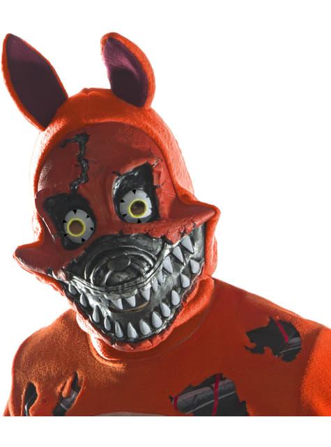 3/4 maska pro dospělé Nightmare Foxy - Five Nights at Freddy's