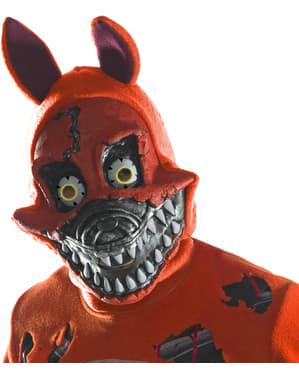 Maschera di Nightmare Foxy 3/4 per adulto - Five Nights at Freddy's