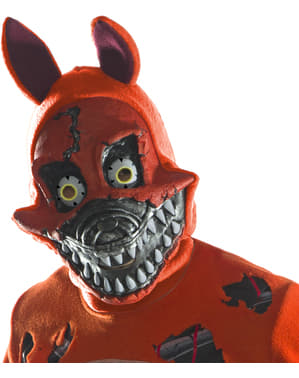 Masque Nightmare Foxy 3/4 adulte - Five Nights at Freddy's
