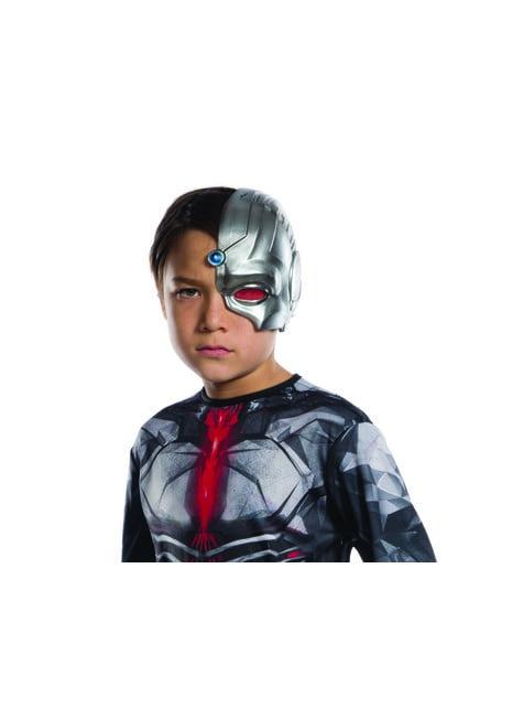 Máscara de Cyborg para niño - Liga de la Justicia