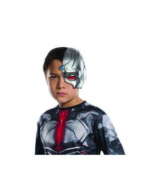 Cyborg Maske für Jungen - Liga der Gerechten
