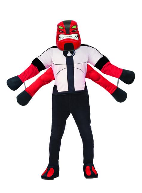 Disfraz de Cuatrobrazos para niño - Ben 10