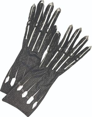 Black Panther Deluxe Gloves for men