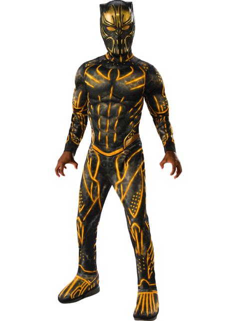 Disfraz de Erik Killmonger deluxe para niño - Black Panther