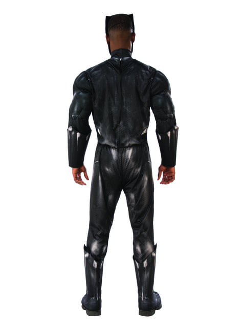Deluxe Black Panther costume for men