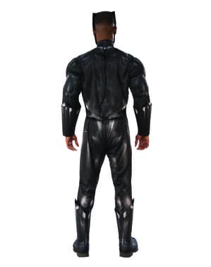 男性用デラックスブラックパンサー衣装