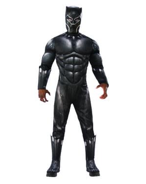 Fato de Black Panther deluxe para homem