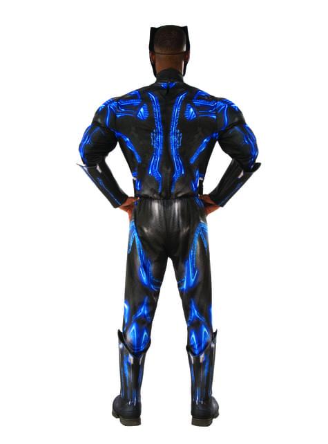 Deluxe kamp dragt kostume til mænd - Black Panther