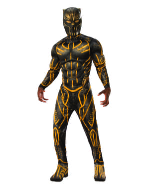 Disfraz de Erik Killmonger Battle Suit para hombre - Black Panther