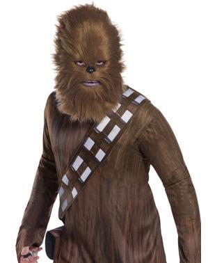 Máscara de Chewbacca para homem - Star Wars