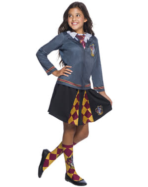 Jupe Gryffondor fille - Harry Potter