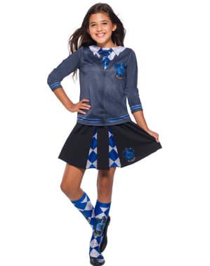 Saia de Ravenclaw para menina - Harry Potter
