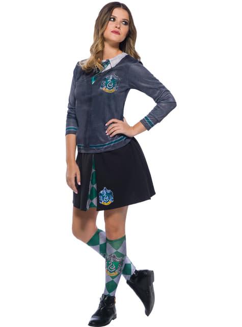 Falda de Slytherin para mujer - Harry Potter