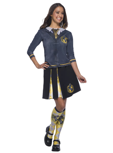 Falda de Hufflepuff para mujer - Harry Potter